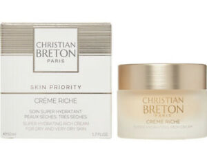 Christian Brenton Creme Riche Hydrating Dry Skin Moisturizer Skin Care Facial