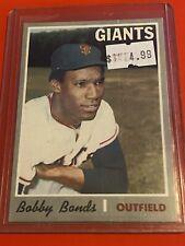 VINTAGE 1970 Topps Baseball Card Set #425 San Francisco GIANTS - BOBBY BONDS
