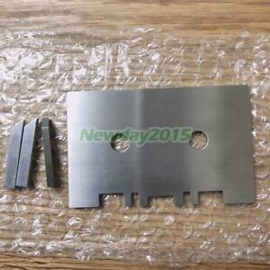 1pcs Head & Guide Gauge Mechanical Alignment + 3pcs Check Bar