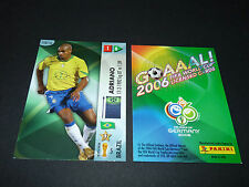ADRIANO BRASIL BRESIL PANINI CARD FOOTBALL GERMANY 2006 WM FIFA WORLD CUP