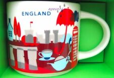 Brand New in Box Starbucks You Are Here England 14 oz. MUG Cup - US Seller