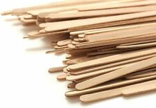 """Wooden Coffee Stirrer Sticks Biodegradable Splinter Free Birch Wood 1000ct 7.5"""""""