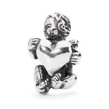Trollbeads original authentic Bead in Argento Guardiano del Cuore TAGBE-30059