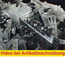 7608 Tertraedrit Sphalerit Quarz ca 12*9*5 cm Casapalca Peru 1986 MOVIE