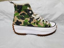 Converse Run Star Hike High Archive Print - Camo  Shoes Mens 8 Womens 9.5