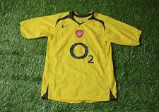 ARSENAL LONDON ENGLAND 2006/2007 FOOTBALL SHIRT JERSEY AWAY NIKE ORIGINAL SIZE S
