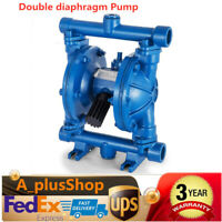Air-Operated Double Diaphragm Pump 12 GPM 1/2inch Inlet&Outlet,1/4Inch Air Inlet