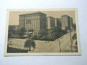 Pittsburgh PA Hotel Schenley RPPC Lumitone Photo Print