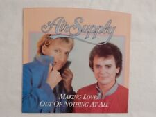 "AIR SUPPLY ""MAKING LOVE OUT OF NOTHING AT ALL"" Picture Sleeve! ONLY NEW ONE eBAY"