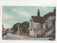 Old Town Hall & Village Pevensey Sussex 1906 Postcard W Brooker 625b