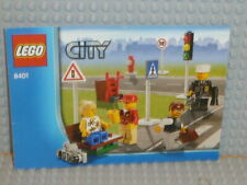 LEGO® City Bauanleitung 8401 City Minifigure Collection instruction B3841