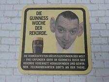 Beer Collectible Coaster <> GUINNESS Brewing Stout ~*~ Funny Guy With Big Ears