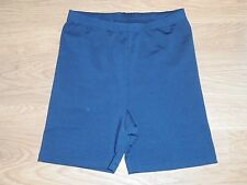 Marika Cool Max black work out athletic tight fit shorts size M