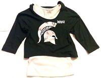 New Door County Wisconsin Youth Girls size Medium M 7//8 Black Shirt