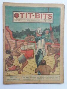 IN THE AMAZON JUNGLE! - TIT-BITS #1614 (1940)  - ORIG. IN SPANISH - ARGENTINA