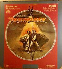 Dragonslayer 1981 Ced Videodisc NTSC
