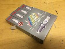 NEW GENUINE LASER IRIDIUM NGK SPARK PLUGS ILZKAR7A10 BOX OF 4 AUTO