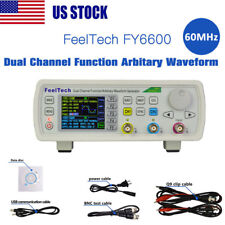 Digital FY6600 60MHz Dual-channel DDS Function Waveform Signal Generator Kit