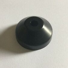 """1x Brand New Plastic Domed 45 RPM Adapter 7'"""" Vinyl Turntable - Dinked Record"""