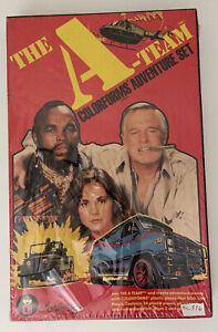 Rare 1983 The A-Team Colorforms Adventure Set Mr. T Vintage MIB