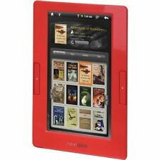 Nextbook Next2 7-Inch Color TFT Multifunctional E-book Reader w/ Case Bundle RED