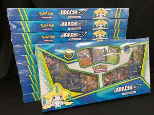 Pokemon TCG: Jirachi GX Collection Box LOT OF 10 Boxes (100 Packs!) SEALED BOXES