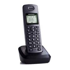 Grundig D1115 Festnetztelefone mit Anrufbeantworter schwarz 9 Betriebsstunden