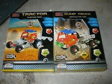 Metal Tech 2 Boxes Tractor Planting Crew And Construction Yard New In Box