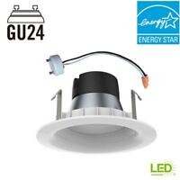 EcoSmart 4in. White Integrated LED Recessed Trim