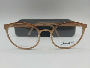 NEUBAU T023 Frida by Silhouette eyeglasses glasses frame rose gold * NEW + case