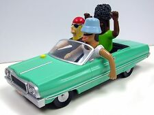 GEMMY LOW RIDER CONVERTIBLE BOBBLE HEAD HOMIES ANIMATED BOTTOM LIGHT CAR