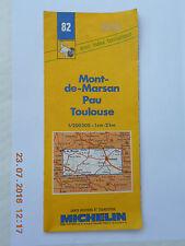 MICHELIN MAP   # 83   CARCASSONNE   MONTPELLIER   NIMES   (1988)