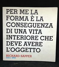 66197 Design interviews: Richard Sapper - Ediz. italiana e inglese con DVD