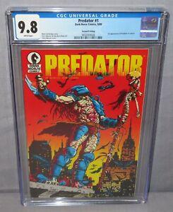 PREDATOR #1 (First appearance in Comics) CGC 9.8 NM/MT Dark Horse 1989 2nd Print