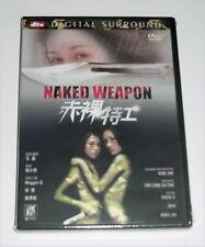 "Maggie Q ""Naked Weapon"" Daniel Wu Yin-Ch HK 2002 RARE Mega Star Action OOP DVD"