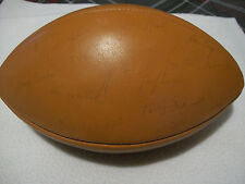 1979 CHICAGO BEARS TEAM AUTOGRAPHED SIGNED FOOTBALL HALAS PAYTON PAGE ++