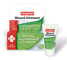 Beaphar Antiseptic Wound Ointment Skin Care for Dogs Cats Birds Small Animals