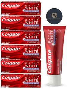 Colgate Optic White Advanced Whitening Toothpaste 6 Pack 3.5 oz