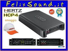 Hertz HCP 4 Amplificatore 4 CANALI 760W   GARANZIA ITALIA + Cappellino OMAGGIO