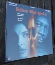 KISS THE GIRL - MORGAN FREEMAN.ASHLEY JUDD LASERDISC NEW & SEALED