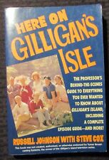 1992 HERE ON GILLIGAN'S ISLE SIGNED by Russell Johnson & Steve Cox FN 6.0 1st Ed