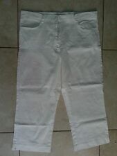 lotto 537 pantaloncini Cupin pantalone bermuda pinocchietto bianco donna tg.50