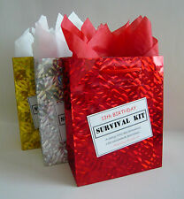 MALE 13th Birthday SURVIVAL KIT Teenager Novelty Present Humorous Gift Idea