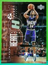 Ray Allen subset card Heart & Soul 1998-99 Upper Deck #90