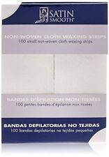 """Satin Smooth - 100 Small Non-Woven Cloth Waxing Strips (1.5"""" x 4"""")"""