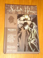 SHERLOCK HOLMES VOL 2 VALLEY OF FEAR & OTHER STORIES IDW HARDBACK 9781600106590<