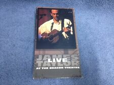 James Taylor Live at the Beacon Theatre [VHS, 1998, Sony]