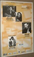 Everything But The Girl - Michael Tomlinson - Najee - Fattburger GIG POSTER Mint