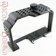 FHUGEN HONU V2.0 Video Cage for Panasonic Lumix GH3 GH4 Sony A7 A7R A7S camera