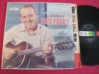 COUNTRY LP - RED FOLEY - COMPANY'S COMIN - DECCA DL 4140 VG++ SHRINK